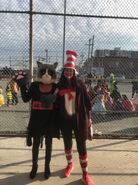 cat in the hat and grumpy