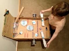 Cardboard Pinball