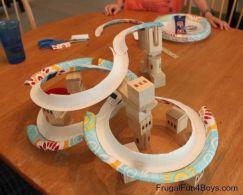 Roller Coaster Plate